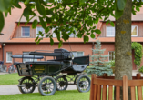 Flair Seehotel Zielow in Ludorf, Kutsche
