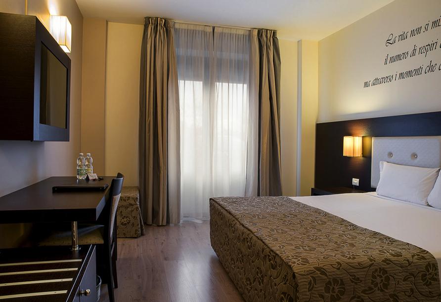 Hotel Executive, Beispiel Zimmer