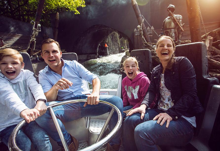 Movie Park Germany in Bottrop, Excalibur