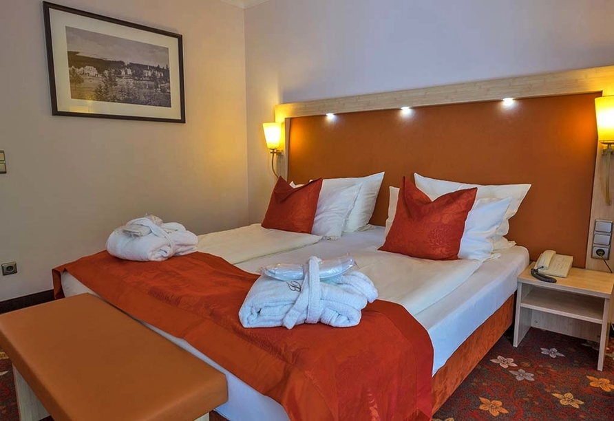 Hotel Walpurgishof Goslar-Hahnenklee Harz, Zimmerbeispiel