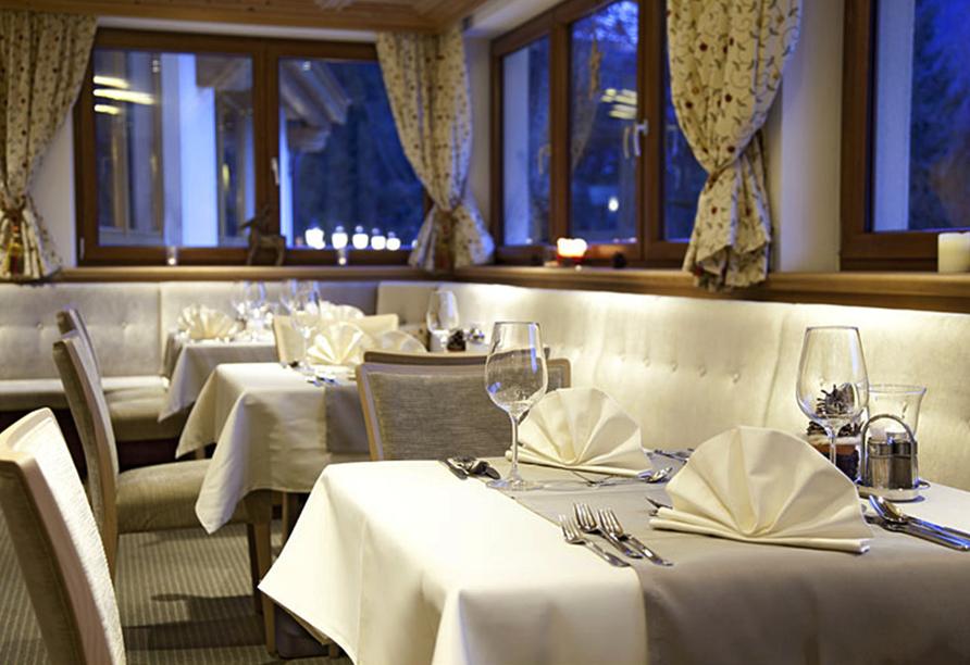 Hotel Berghof, Restaurant