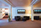 Hotel Strela in Davos Platz, Hotellobby