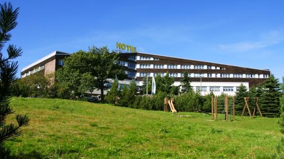 Hotel Lugsteinhof in Altenberg Zinnwald im Erzgebirge, Aussenansicht