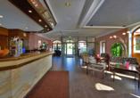 Michel & Friends Hotel Waldkirchen, Bayerischer Wald, Rezeption