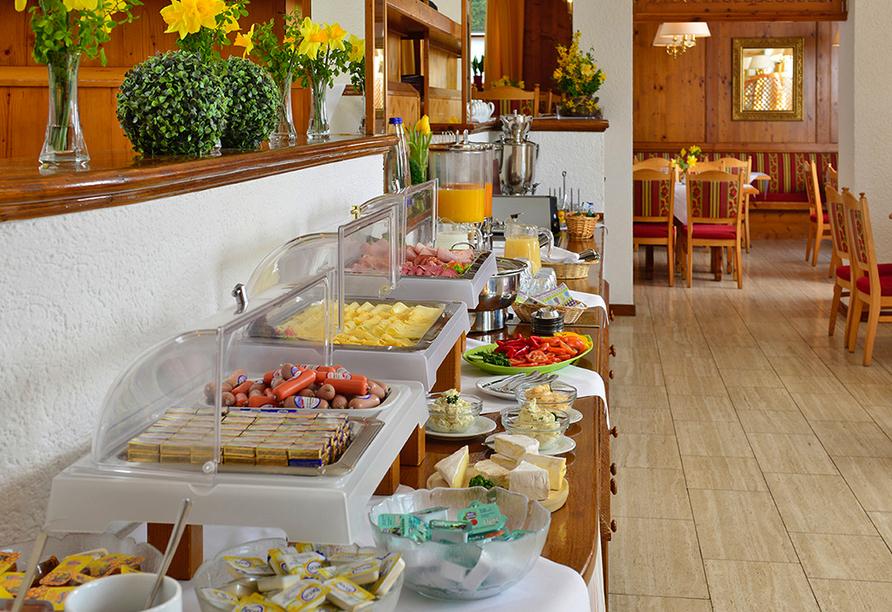 Michel & Friends Hotel Waldkirchen, Bayerischer Wald, Frühstücksbuffet