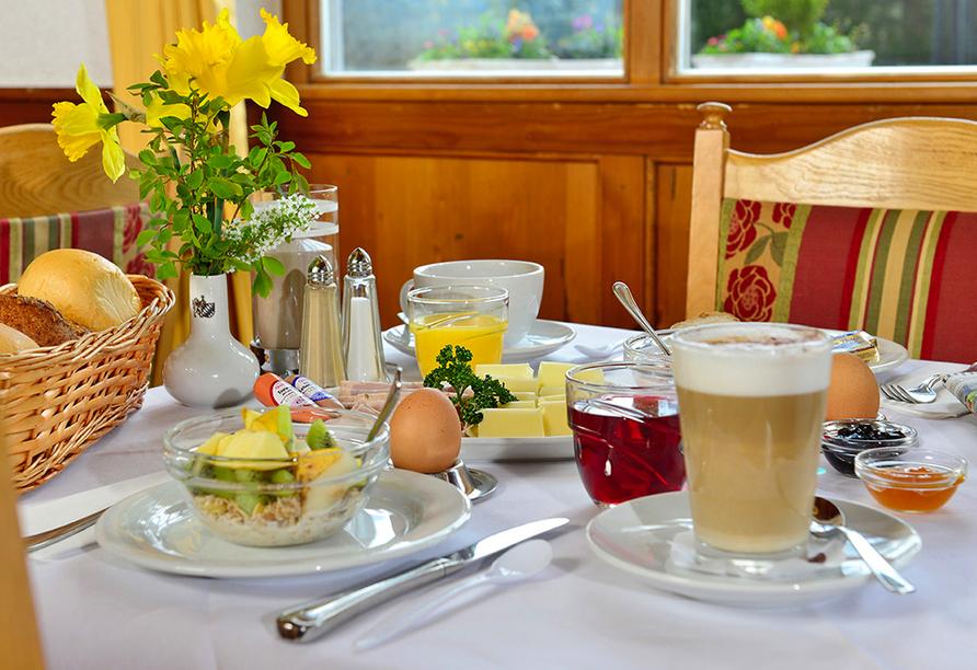 Michel & Friends Hotel Waldkirchen, Bayerischer Wald, Frühstück