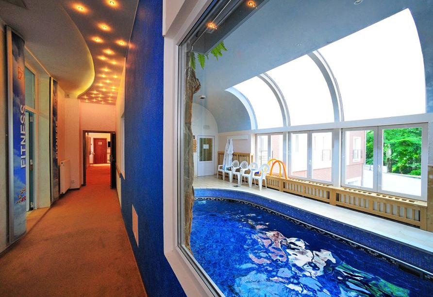 Hotel Richard in Marienbad in der Tschechischen Republik, Hallenbad