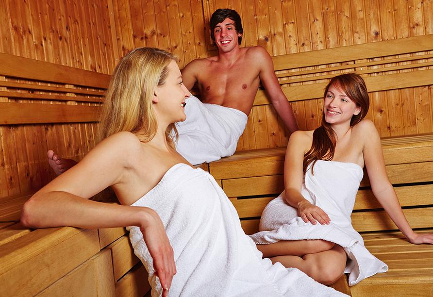 Hotel Richard in Marienbad in der Tschechischen Republik, Sauna