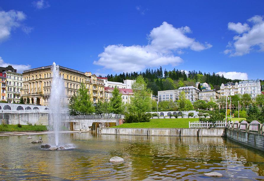 Hotel Richard in Marienbad in der Tschechischen Republik, Marienbad