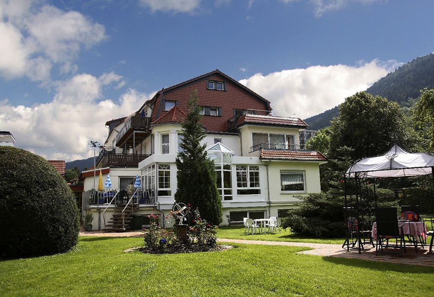 Parkhotel Weber-Müller in Bad Lauterberg, Außenansicht