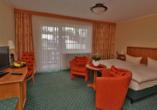 PTI Hotel Eichwald in Bad Wörishofen, Beispiel Doppelzimmer Standard
