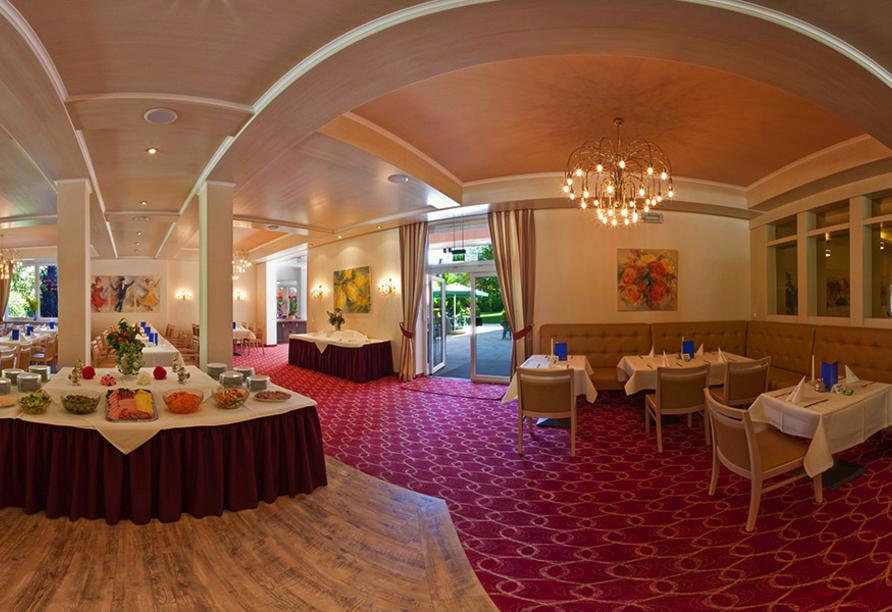 PTI Hotel Eichwald in Bad Wörishofen, Hotelrestaurant