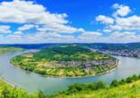 Baum´s Rheinhotel, Rheinschleife