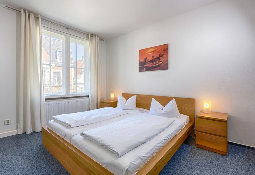 Hotel Zur Börse in Hameln, Zimmerbeispiel