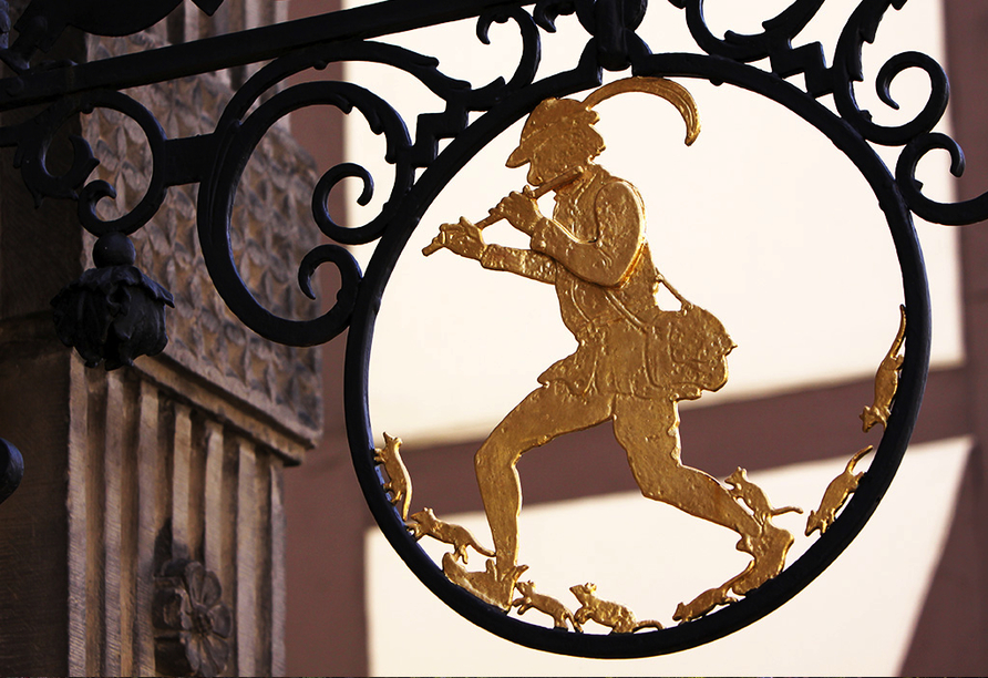 Hotel Zur Börse in Hameln, das Rattenfängerhaus