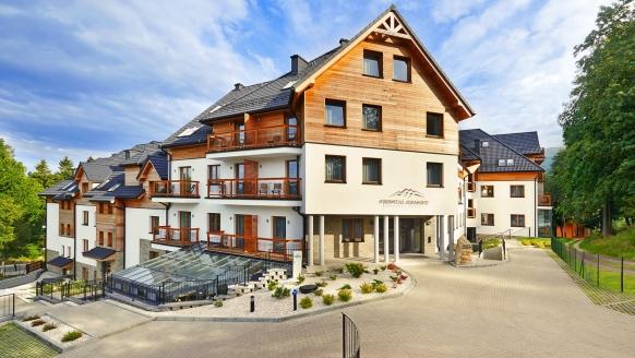 Cristal Resort, Schreiberhau, Riesengebirge, Polen, Außenansicht