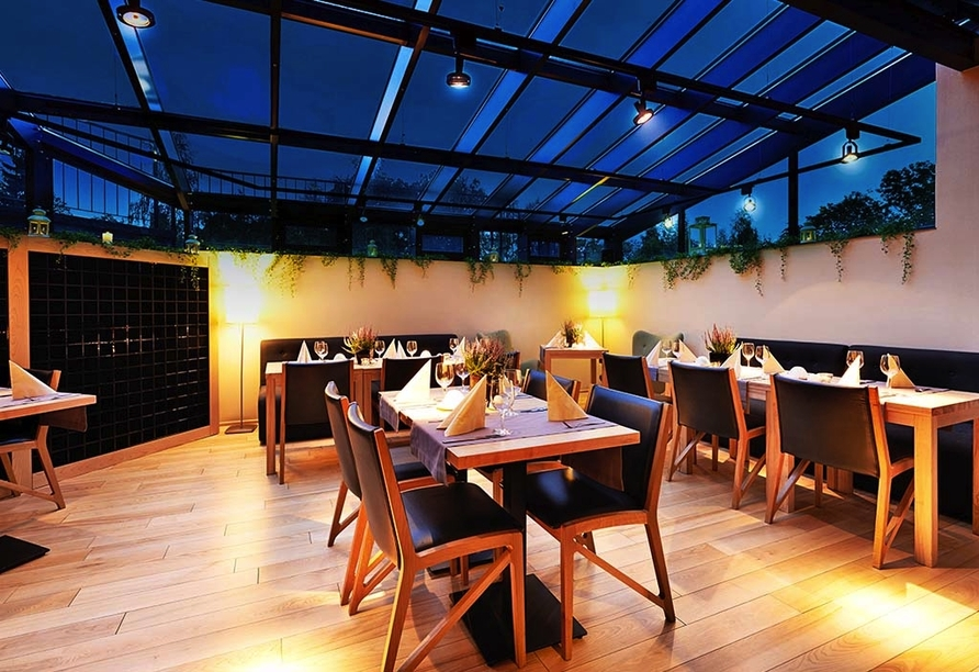 Cristal Resort, Schreiberhau, Riesengebirge, Polen, Restaurant