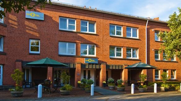 Ghotel hotel & living Kiel in Kiel an der Ostsee, Außenansicht
