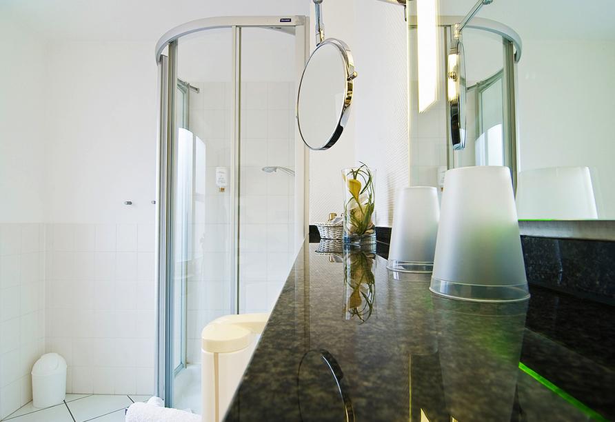 Ghotel hotel & living Kiel in Kiel an der Ostsee Badezimmer