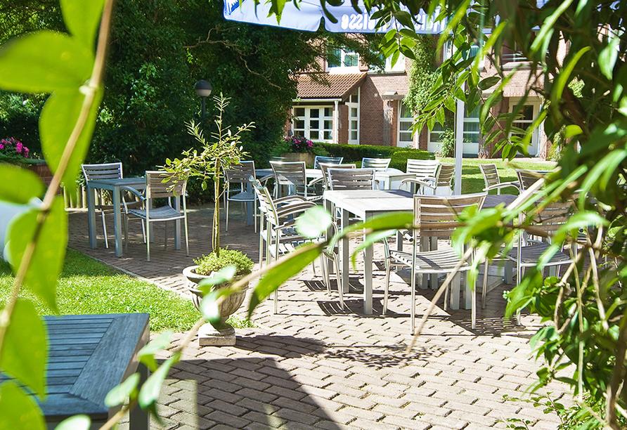 Ghotel hotel & living Kiel in Kiel an der Ostsee Terrasse