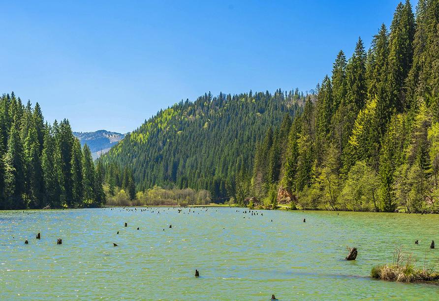 Mystisches Rumänien, Roter See