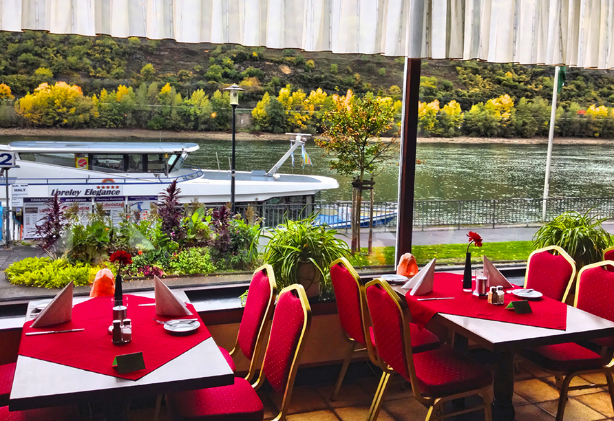 Hotel Rheinlust, Boppard, Restaurant