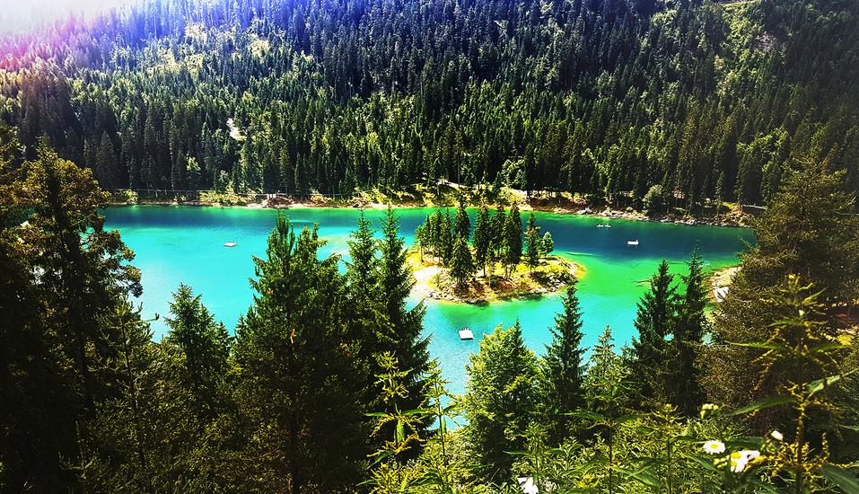 T3 Alpenhotel Flims, Caumasee