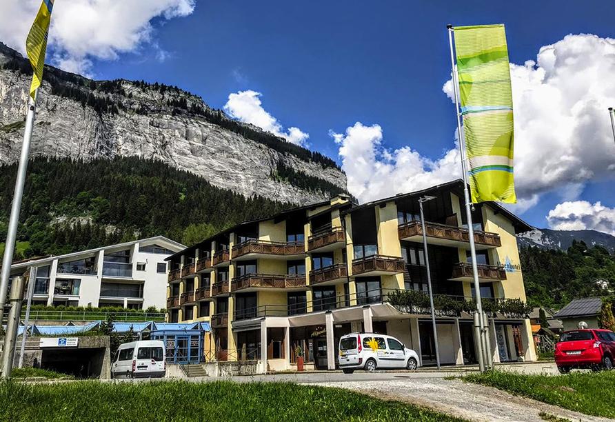 T3 Alpenhotel Flims, Außenansicht
