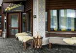 T3 Alpenhotel Flims, Eingangsbereich