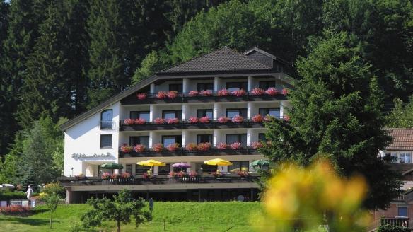 Höhenhotel Pfeifle in Baiersbronn im Schwarzwald, Außenansicht
