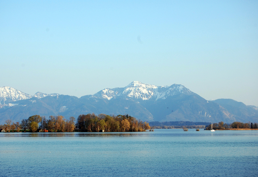 Landgasthof zur Post in Schleching, Chiemsee