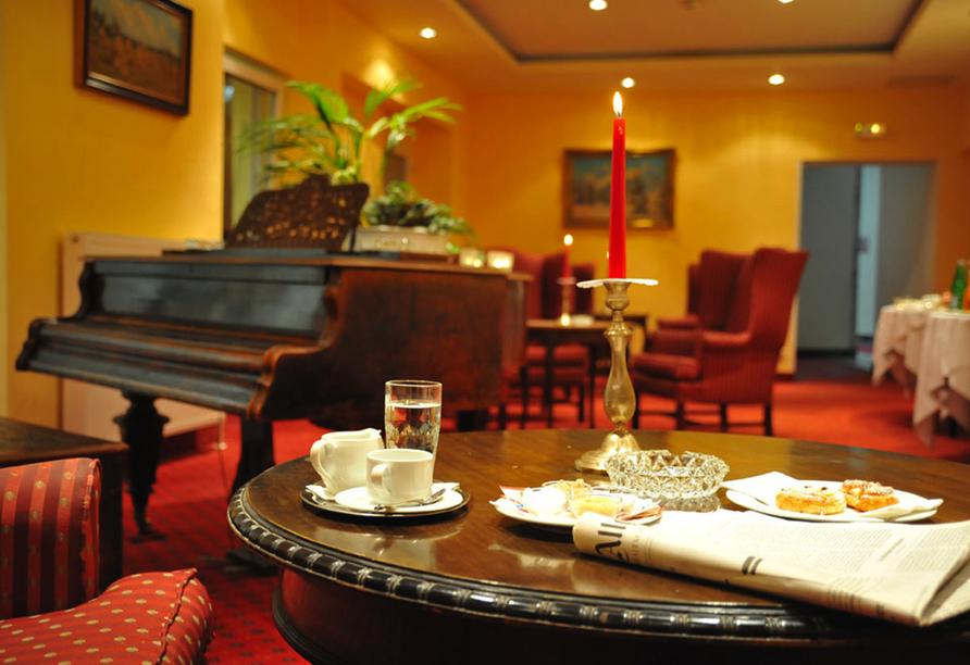 Hotel Elisabethpark in Bad Gastein im Salzburger Land, Lounge