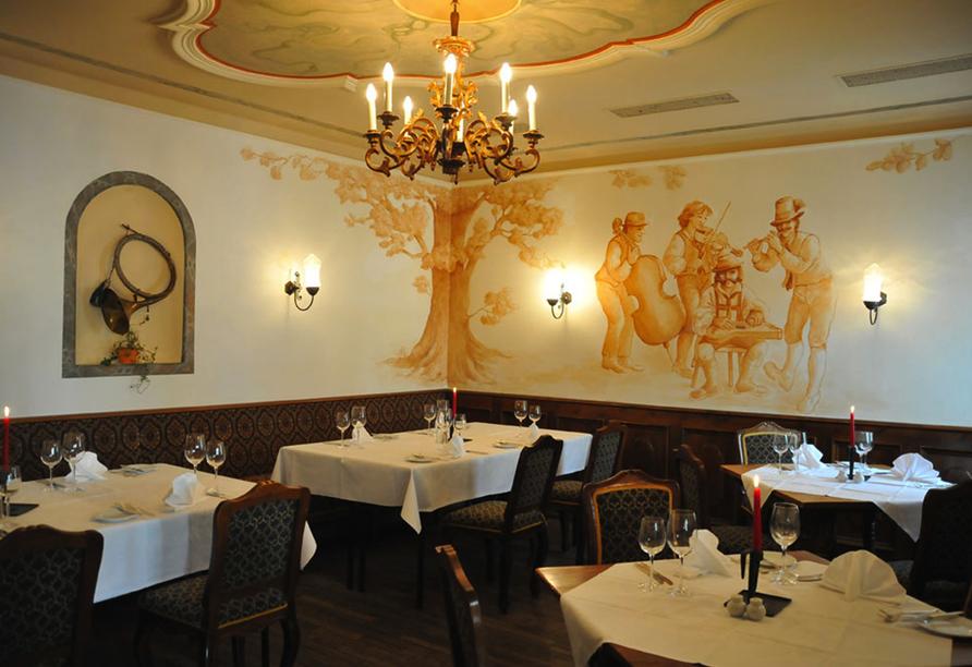 Hotel Elisabethpark in Bad Gastein im Salzburger Land, Restaurant