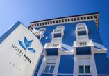 Hotel Park in Lovran, Kvarner Bucht, Außenansicht