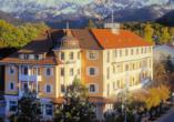Hotel Vier Jahreszeiten in Garmisch-Partenkirchen, Außenansicht