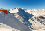 Cesta Grand Aktivhotel & Spa in Bad Gastein, Ski