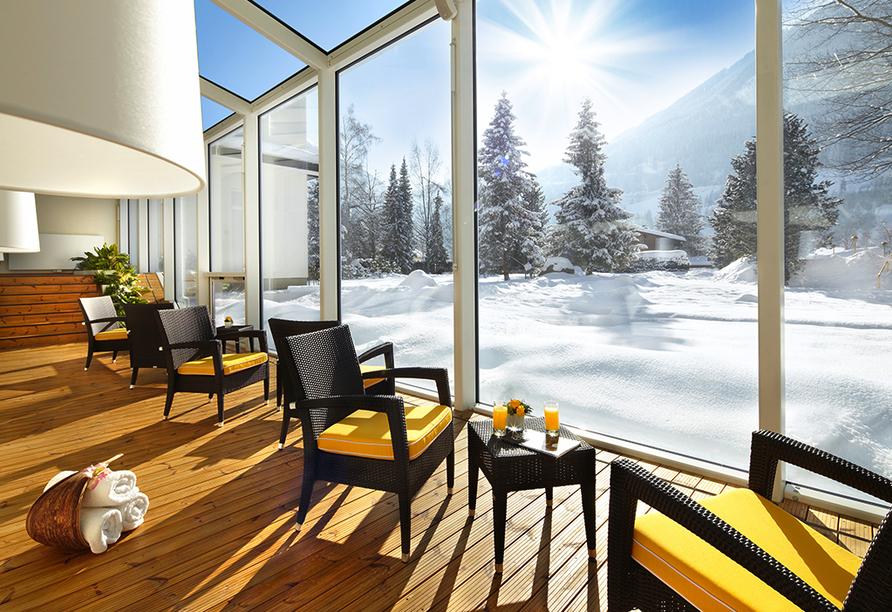 Cesta Grand Aktivhotel & Spa in Bad Gastein, Wandelgang