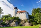 Erzgebirgshotel Freiberger Höhe, Eppendorf, Erzgebirge, Burg Rabenstein bei Chemnitz