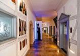 Hotel Gasthof Alte Vogtei in Wolframs-Eschenbach, Gang