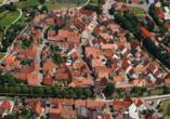 Hotel Gasthof Alte Vogtei in Wolframs-Eschenbach, Vogelperspektive