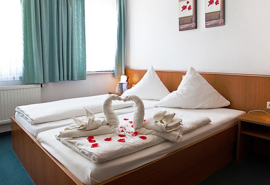 Hotel Lindenhof in Bad Lauchstädt, Zimmerbeispiel