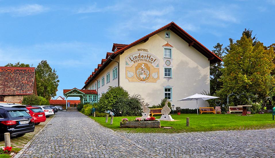 Hotel Linderhof in Erfurt, Außenansicht