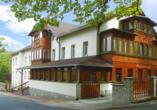 Hotel Swieradow in Bad Flinsberg, Niederschlesien, Polen, Außenansicht