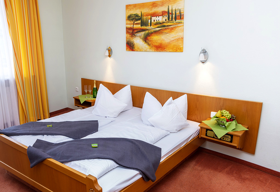 Müller's Landhotel in Mespelbrunn, Zimmerbeispiel