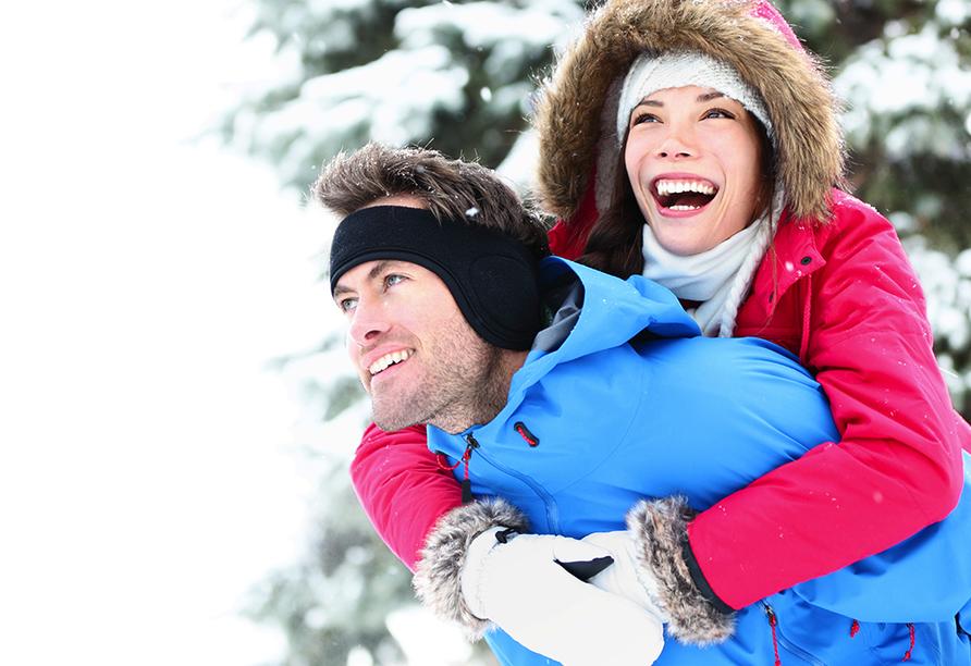 Hotel Am Kurpark Brilon, Spaß im Schnee