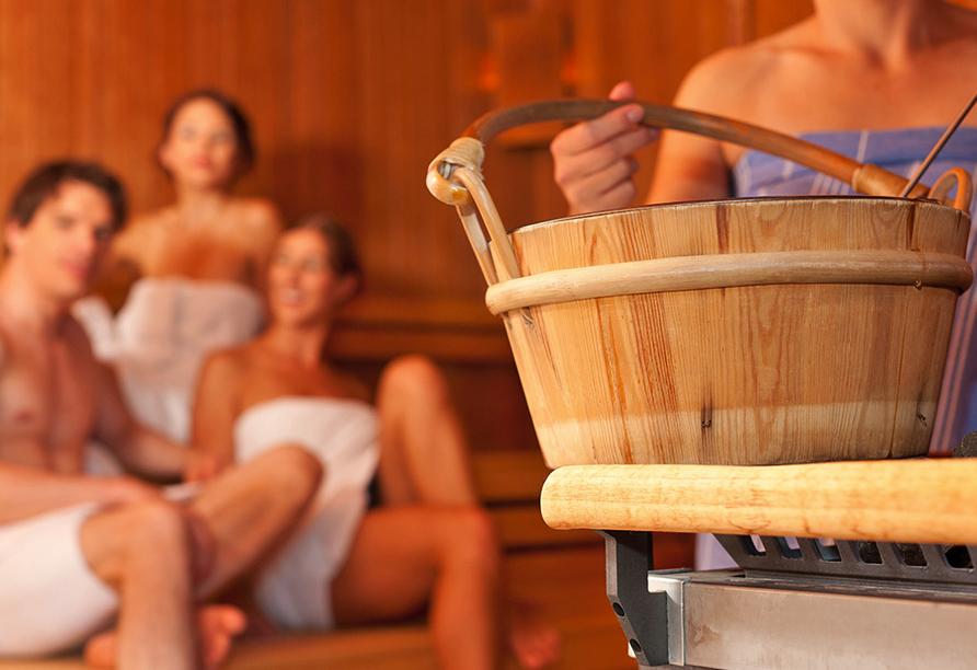 Seehotel Brandenburg an der Havel, Sauna