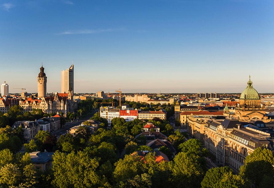 ACHAT Comfort Messe-Leipzig, Leipzig Panorama