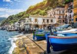 Mediterrane Vielfalt an Italiens Stiefelspitze, Scilla