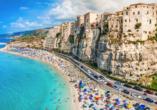Mediterrane Vielfalt an Italiens Stiefelspitze, Tropea