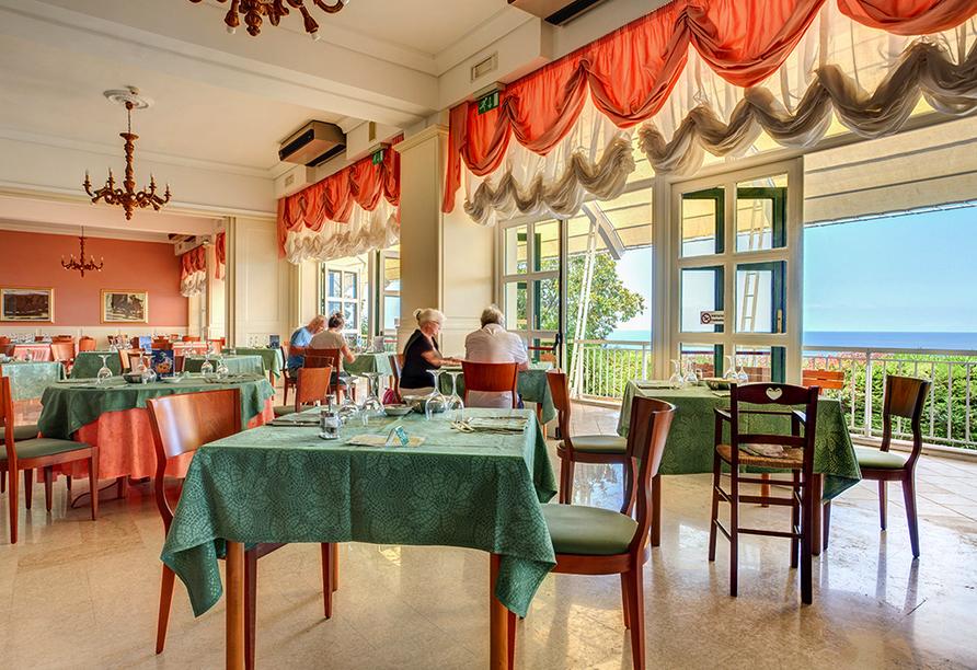 Mediterrane Vielfalt an Italiens Stiefelspitze, Hotel Santa Lucia, Restaurant